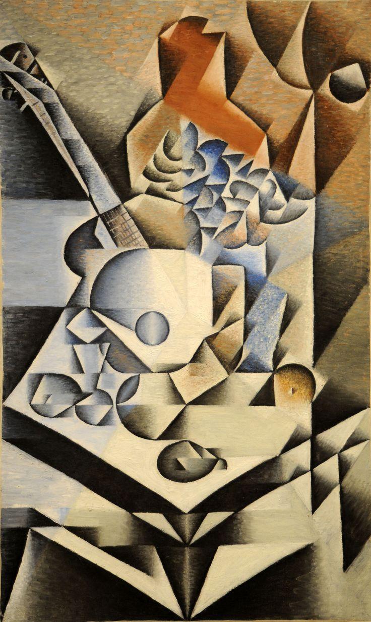 Still life with flowers  Artista: Juan Gris Tamaño: 1,12 m x 70 cm Período: Cubismo Técnica: Pintura al aceite Fecha de creación: 1912