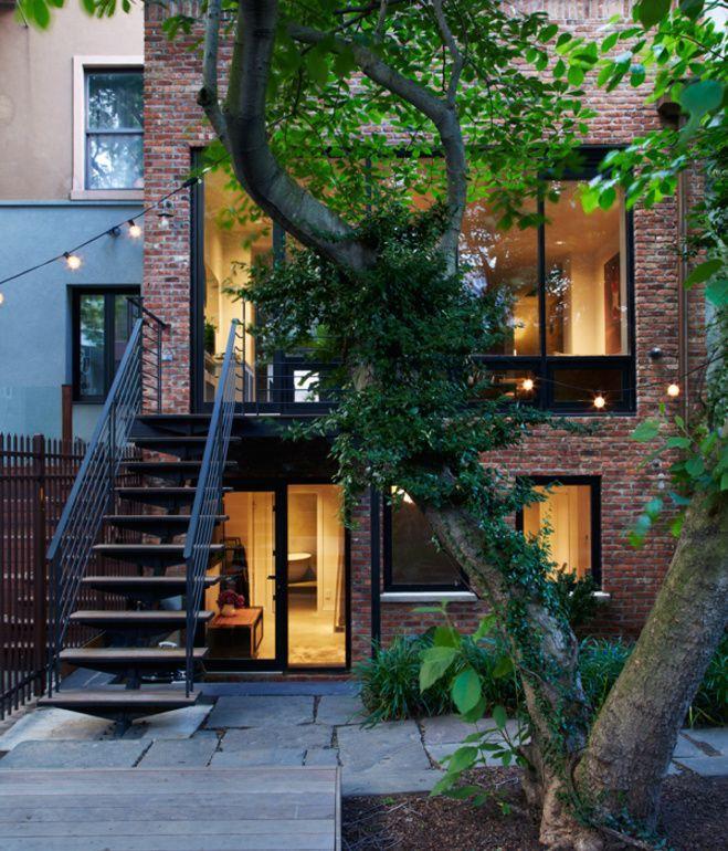 Modern Row House Plans: 89 Best Modern Single Story Homes Images On Pinterest