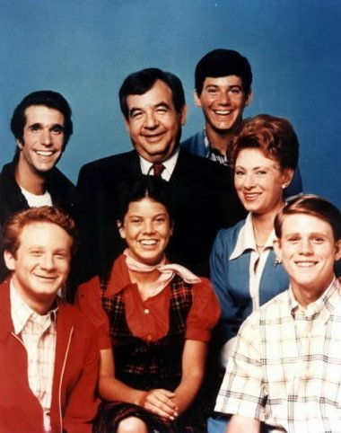 Happy Days.  Obsessed with this show as a kid.