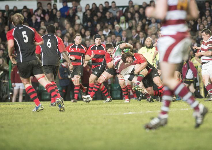 Varsity season came to an end with the men's and women's 1st team rugby matches, which are held at Leicester Tigers' Welford Road stadium #varsity #rugby #leicestertigers