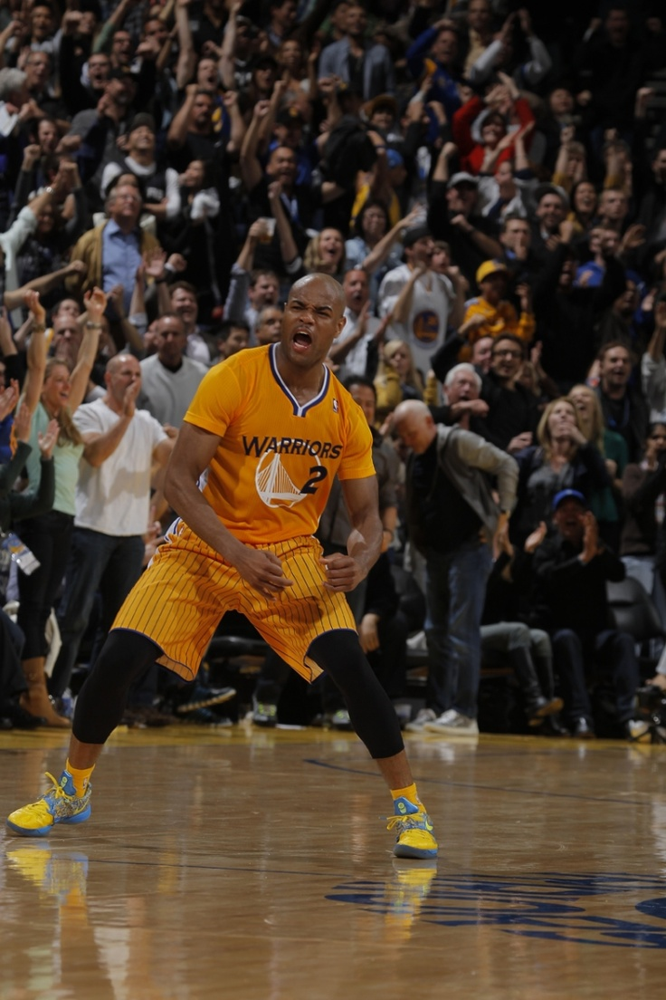 And then there was Jarrett Jack, who became the first Warriors player to post 30 points and 10 assists off the bench since Magic Johnson in 1996. Jack achieved that feat in the February 22 overtime victory against the Spurs, one that might be remembered more for the debut of the first-ever modern short sleeve NBA uniform.