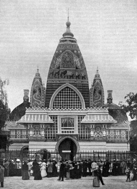 BERLIN um 1902, das Elefantenhaus, außen, im Zoologischen Garten
