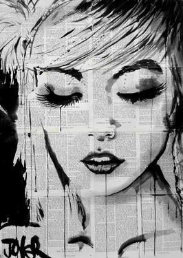 "Saatchi Art Artist Loui Jover; Drawing, ""ivy"" #art  #UrbanArtDistrict favorite!"