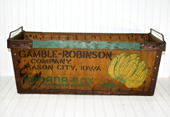 17 Best Images About Banana Boxes On Pinterest Antiques