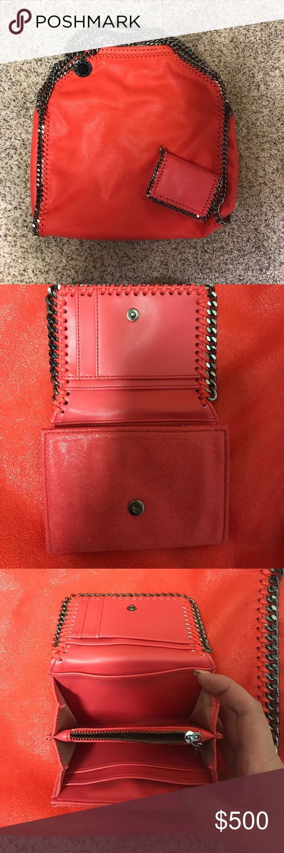 Stella McCartney Falabella with matching wallet I'm excellent used condition Stella McCartney Bags Shoulder Bags