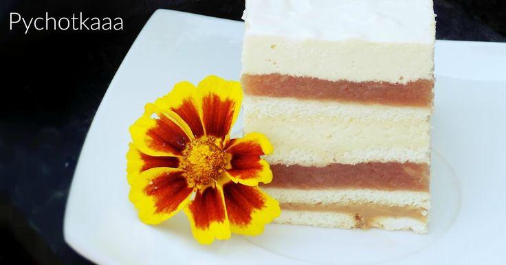 Szybciutkie ciasto robiące duże wrażenie, wychodzi bardzo wysokie i bardzo ładnie, równo się kroi. Smak kwaśnych jabłek idealnie komponuje...