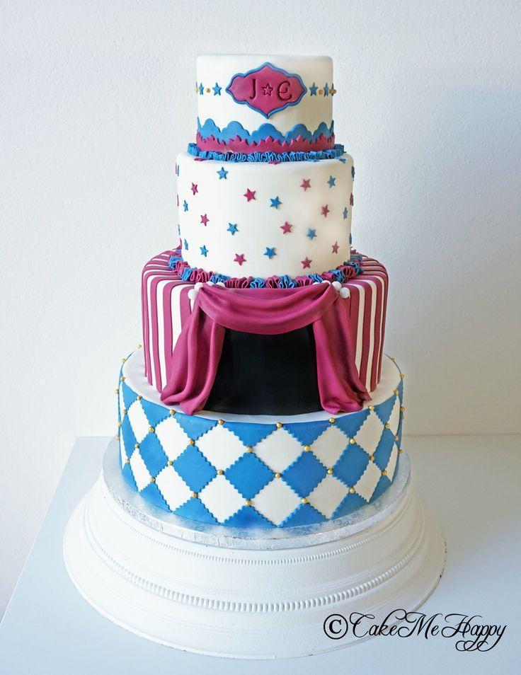 Bröllopstårta cirkus