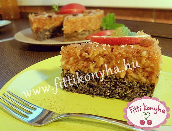 Fitti Konyha: Fahéjas-almás máktorta recept (paleo)