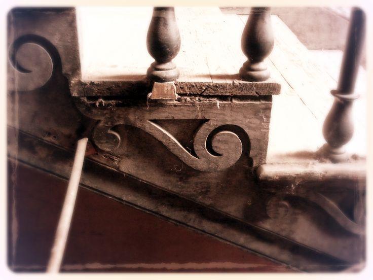 Stair detail Henrietta Street Dublin