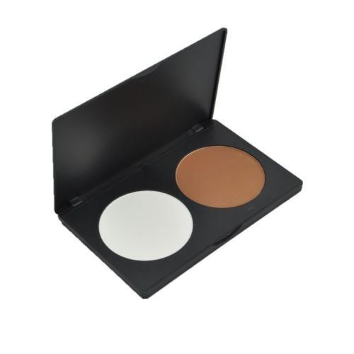 Hot 2 Colors Makeup Concealer Highlight Contour Shading Cosmetic Powder Palette