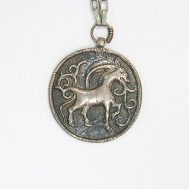 Pendant from the period of Crusades, origin the geographical area of Inkeri between Finland and Russia | Kalevala Koru: riipu Inkerinmaalta ristiretkien ajalta