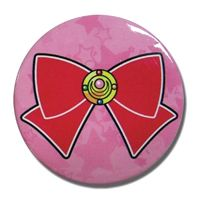 Sailor Moon Brooch and Bow Badge.