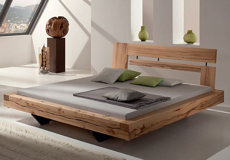Massiv Schlafzimmer Balkenbett - Google Search | Schlafzimmer | House Beds