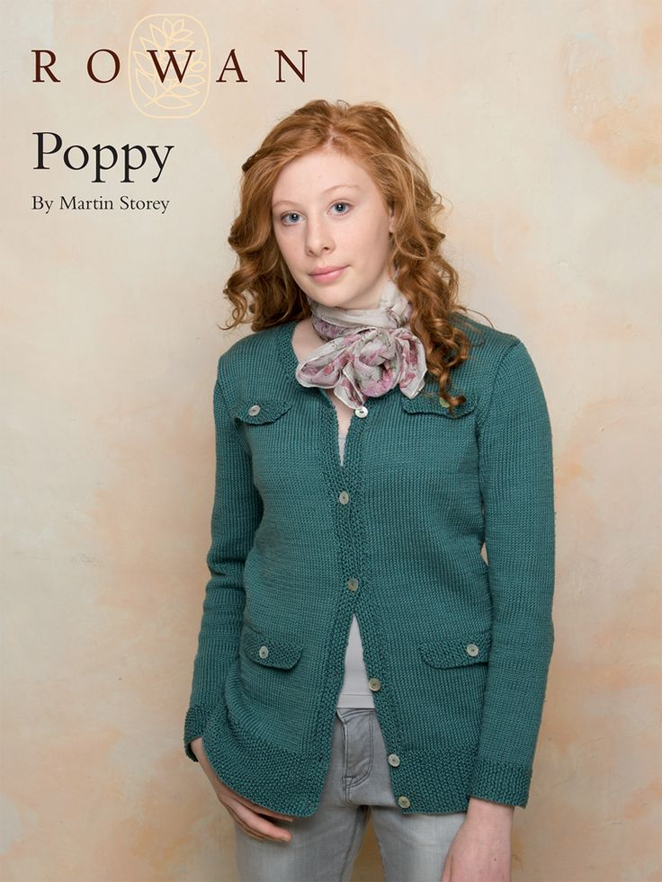Free Knit Cardigan Pattern Poppy