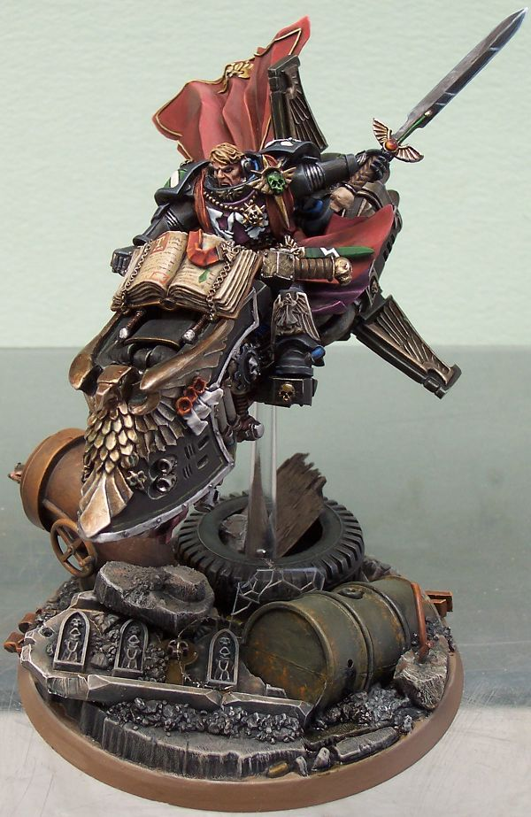 40k - Sammael of the Ravenwing