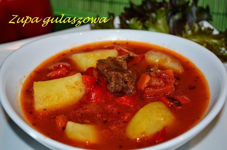 Smak, zapach, kolor, tradycja z nutką nowoczesności...: Zupa gulaszowa-węgierski gulyás