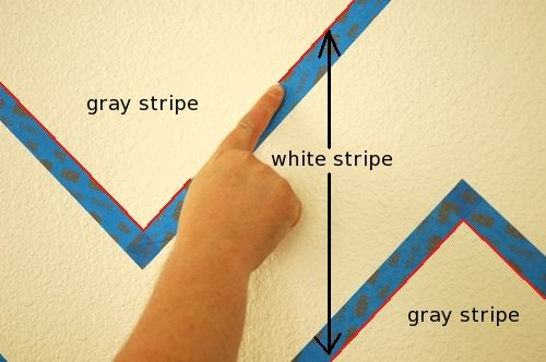 Paint perfect lines on textured drywall. I am not having any luck with my walls so I'm curious if this works.