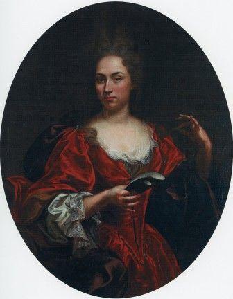 """Enrico Giovanni Waymer, attr. (1665-1738), """"Ritratto di dama con maschera"""",  olio su tela, cm 116 x 87   #PinacotecaCivica #AscoliPiceno #Marche #Italy"""