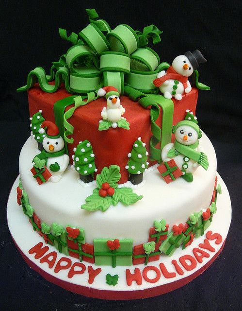 Resultado de imagen de tartas navideñas