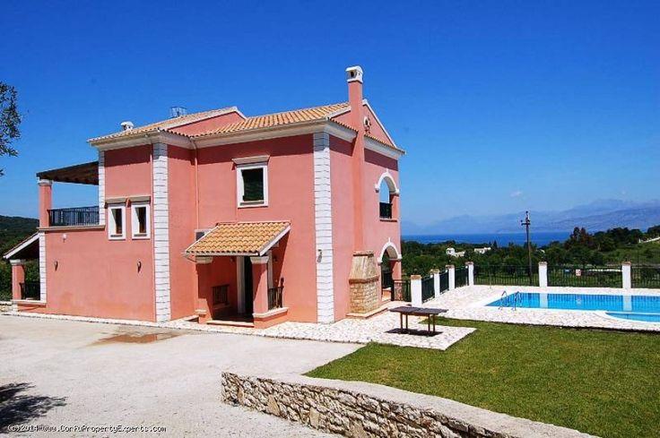 New price reduction. Villa for sale in Avalaki Corfu Greece.