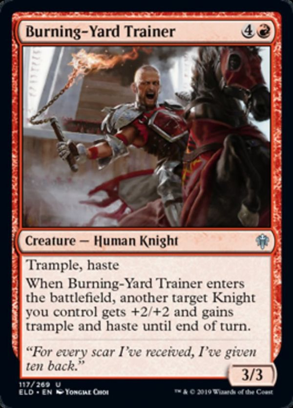Foil Magic the Gathering : ELD: Venerable Knight Uncommon mtg
