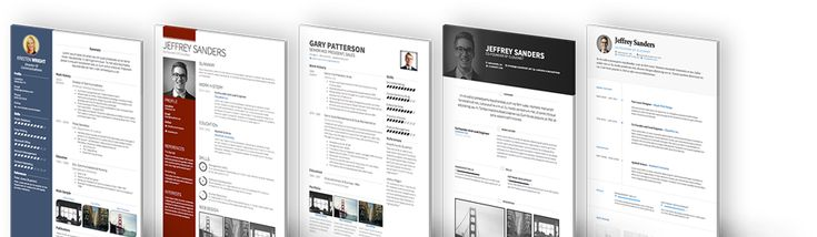 Visual CV Resume Samples!
