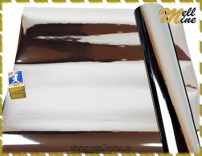 Dekorplast dcfix - metall silverfärgad - b= 43-45 cm (metervara)