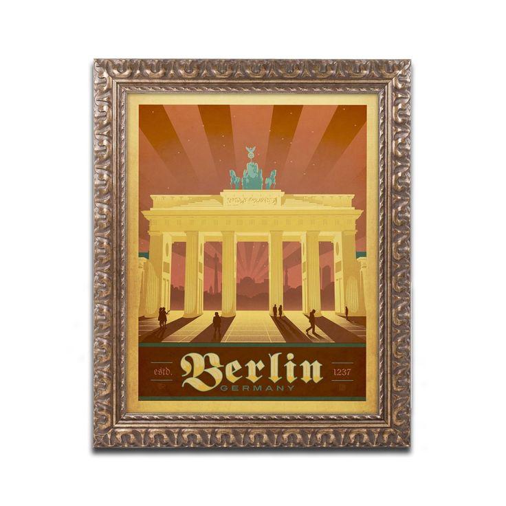 Berlin germany by anderson design group framed graphic for Grafik design berlin