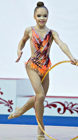 RG leotard close-up (photo by Olga Kochegarova)