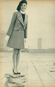 208 best 1960s images on pinterest 1960s events and furniture yves saint laurent fashions in the february 1968 issue of french elle voltagebd Images