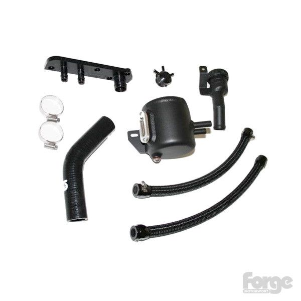 Forge Motorsport Oil Catch Tank System for 2.0T FSI with Charcoal Filter