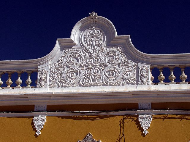 Castro Marim, Algarve. Detail of decorative home