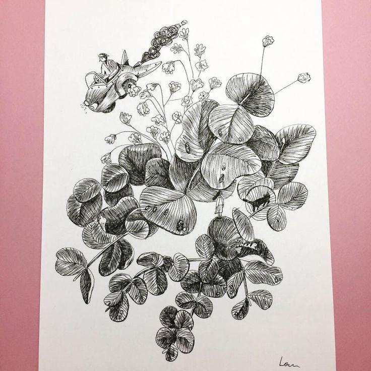 untitled #ink #loretaisac #illustration