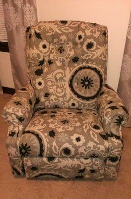 LazyBoy Makeover: How to Reupholster a Recliner