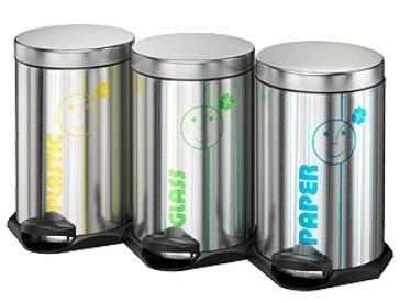 Segregacja odpadów to podstawa ekologicznego stylu życia. Kosz Eco Trio to elegancki i łatwy do stosowania nawet przez najmłodszych domowy system segregacji śmieci.
