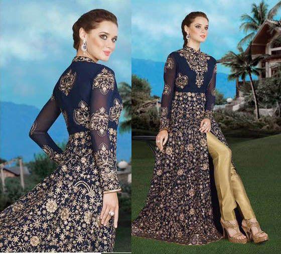 Anarkali Salwar Kameez Indian Pakistani Wedding Wear Gown Bollywood Ethnic Dress #Shoppingover #SalwarKameez