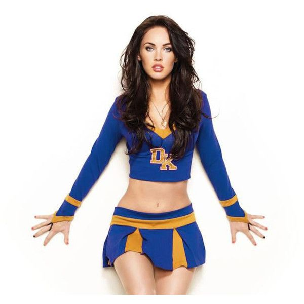 "Megan Fox - ""Jennifer's Body"" Cheerleader Photoshoot (MQ) - Got Celeb ❤ liked on Polyvore featuring accessories, megan fox, cheerleader and megan"