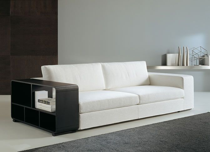 Interior. Gorgeous Fashionable Sofa Beds For Perfect Interior Design Ideas: Interesting Modern Sofa Design Furniture With White Shades Minimalist Style Sofa For Modern Minimalist Interior Concept ~ wegli