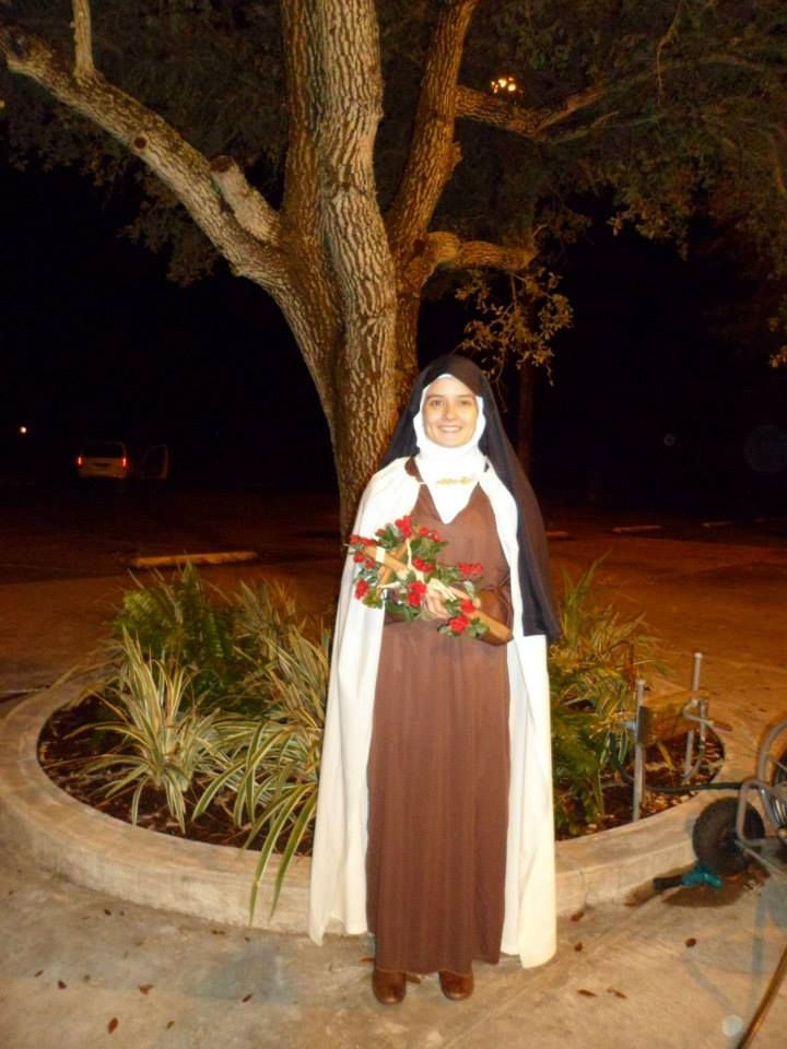 All Saint S Day Costume St Therese Of Lisieux I Used A
