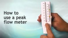 How to use a peak flow meter Peak Expiratory Flow Rate PEFR
