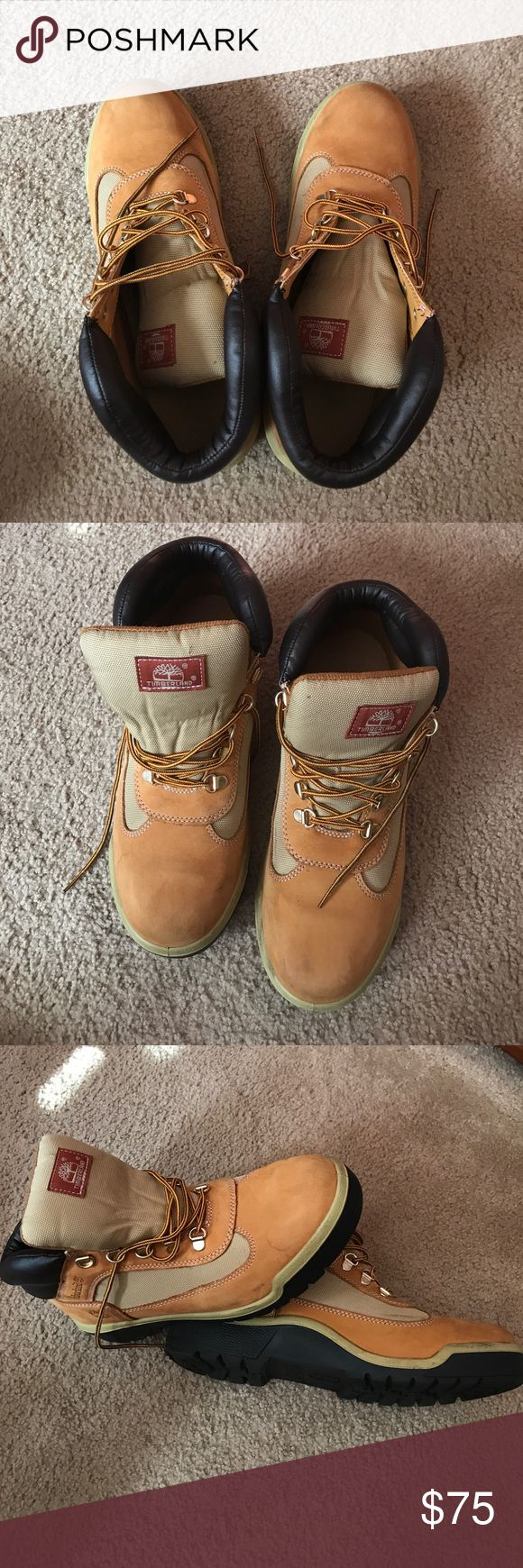 Timberland Timberland wheat hiker field boots style #6532a  Just in time for the cold weather ❄️☃️ Timberland Shoes Boots