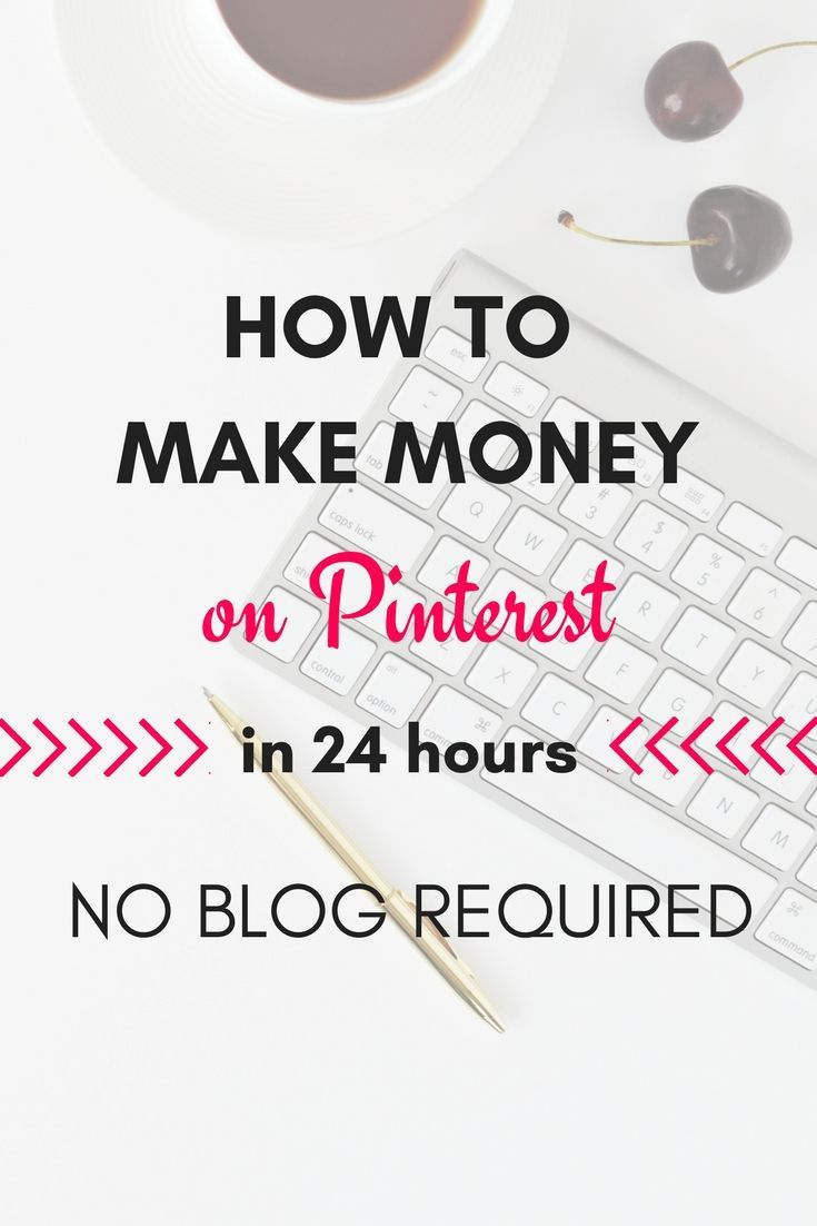 How to make money on Pinterest in 24 hours or less using affiliate marketing! Th… – Weathered Grace Designs
