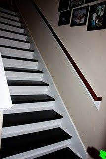 Painted Stairs Home Improvements
