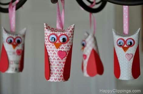 Christmas Tree Decorations #owls