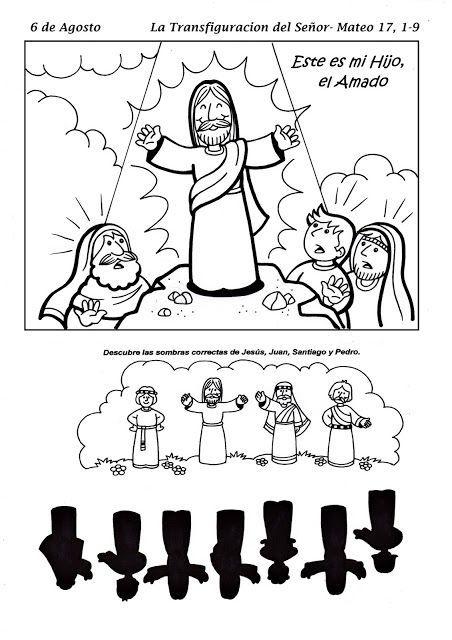El Rincón de las Melli: 6 de Agosto - La transfiguracion del Señor