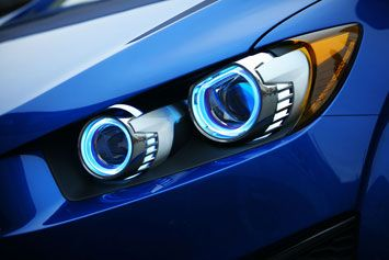 #Chevrolet Aveo RS Concept #Headlights