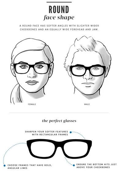 Eyeglass Frames For A Wide Face : Best 25+ Round face glasses ideas on Pinterest Glasses ...