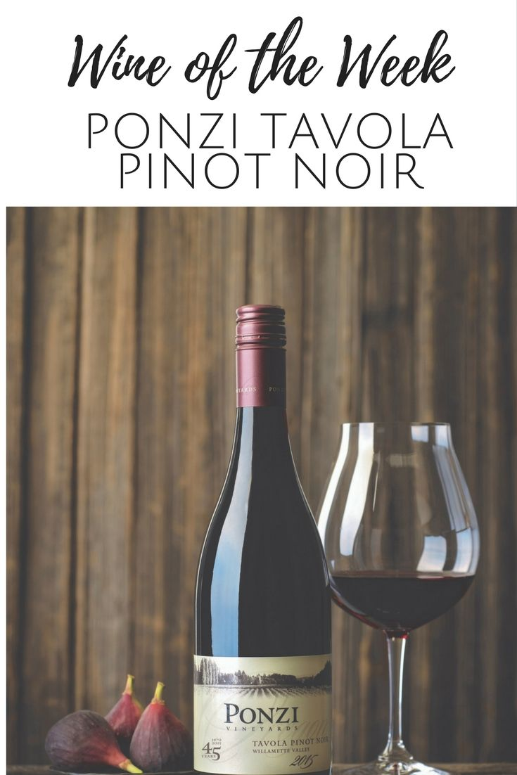 Loving this Oregon Pinot Noir from Ponzi Vineyards. Fruity, dry and affordable. ofeleganceandgrit.com