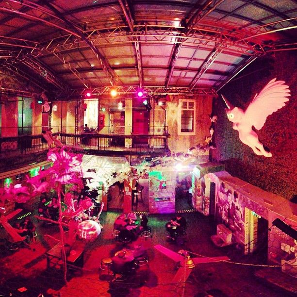 Instant is one of the youngest Ruin Pubs in the city. It is an enchanted ruin pub with four bars on two levels. Disco balls with rabbit herds running on the ceiling. Crazy and loveable place with cool folks.  Open: Monday - Sunday: 4 pm to 3 am