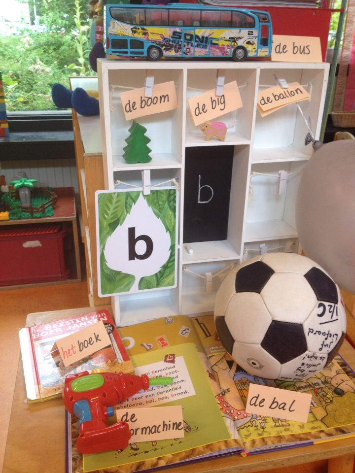 Klasversiering - Het letterkastje